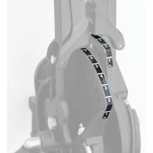 Decal, Pedal Adjustment