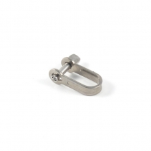 Shackle W/Safety Key Pin 1/4""