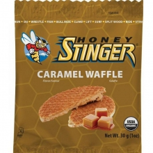 Organic Caramel Waffles by Honey Stinger
