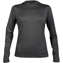 Women's Micro-Elite Chamois 8K Crewneck Top by Hot Chilly's