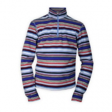 Youth Pepper Fleece Print Zip-T in State College, PA