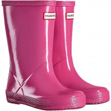 Kids' First Classic Gloss Boot by Hunter