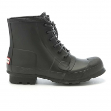 Men's Original Rubber Lace Up Boot by Hunter