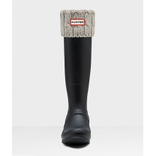 - 6 Stitch Cable Tall Boot Sock
