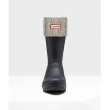 - 6 Stitch Cable Short Boot Sock by Hunter
