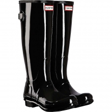 Women's Original Back Adjustable Gloss Boot by Hunter