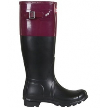 Hunter Original Colorblock Rain Boot - Women's-10 by Hunter