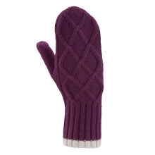 Cable Sweater Mitten by Ibex in Boston Ma