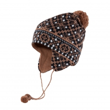 Women's Fairisle Earflap w/ Ties
