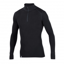 Men's Woolies 1 Zip T-Neck by Ibex