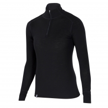 Women's Woolies 1 Zip T-Neck by Ibex
