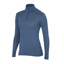Women's Woolies 1 Zip T-Neck by Ibex in Smithers BC