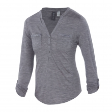 Women's OD Shanti Henley by Ibex in Highland Park Il