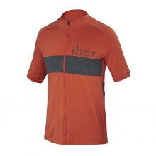 Spoke Full Zip Jersey by Ibex