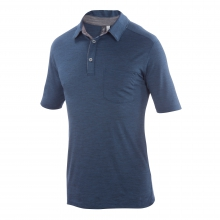 Men's Crosstown Polo by Ibex in Ann Arbor Mi