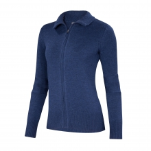 Women's Chroma Sweater Full Zip by Ibex in Hudson MA