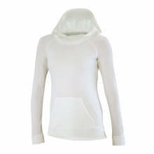 Women's Waffle Knit Hoody by Ibex in Beacon Ny