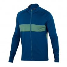 Men's Spoke Full Zip Long Sleeve Jersey by Ibex
