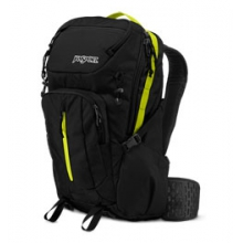 Equinox 34 Backpack - Black/Lime Punch by JanSport