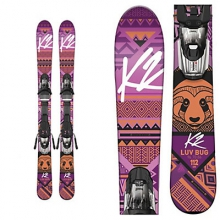 Luv Bug Kids Skis with Marker Fastrak2 4.5 Bindings 2017 in Logan, UT