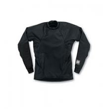 Surfskin Long Sleeve Shirt - Black In Size: Small by Kokatat