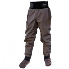 Hydrus 3L Tempest Pants with Socks - Women's - Grey In Size