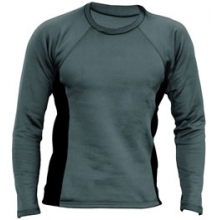 Power Dry Outer Core Long Sleeve Top - Women's - Graphite In Size: Small