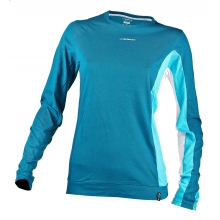 - Elixir LS Shirt Wmns - X-Large - Fjord Malibu Blue by La Sportiva