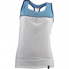 Momentum Tank Top Womens - Malibu Blue / White M by La Sportiva
