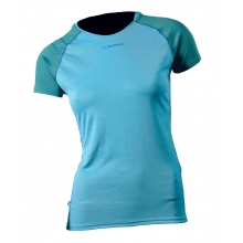 - Flight T-Shirt Womens - X-Small - Mid Blue by La Sportiva