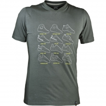 Heritage T-Shirt Mens - Grey XL by La Sportiva