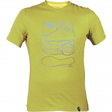 Climbing Roots Tee Mens - Rust M by La Sportiva