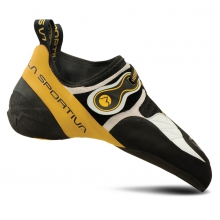 Solution Climbing Shoe Mens - White / Marbled Yellow 43.5 by La Sportiva