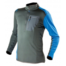 - Icon Pullover Mens - Small - Grey/Blue by La Sportiva