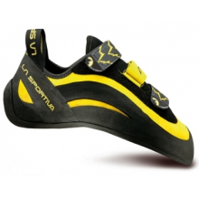 Miura VS Climbing Shoe - Yellow / Black 39 by La Sportiva