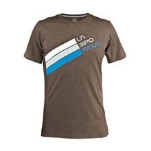 Stripe Logo T-Shirt by La Sportiva