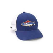 North Carolina Trout Mesh Back Hat by Repyourwater