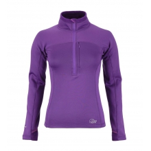Womens Powerstretch Zip Top SM