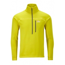 Powerstretch Zip Neck MD::Zest by Lowe Alpine
