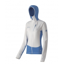 Women's Yukon Tech Jacket LG::White-Light Mauve
