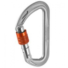 Wall Micro Lock Carabiner - Silver