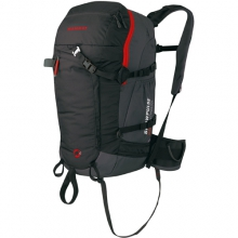 Pro 45 R.A.S. Airbag Ready Backpack: Black/Smoke