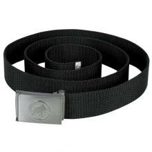 Logo Belt: Black by Mammut