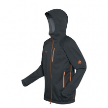 Ultimate Nordpfeiler Pullover Jacket - Men's: Black, Medium by Mammut