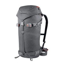 Spindrift Tour 32 Alpine Backpack: Smoke/Dark Orange