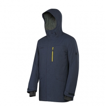 Trift Parka - Men's: Dark Space Melange, Medium by Mammut