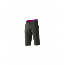 - Runje Bermudas Womens - 6 - Dark Oak / Scarlet by Mammut