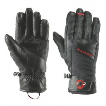 Guide Work Glove - Men's - Black In Size by Mammut