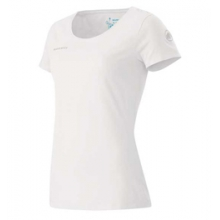Logo T-Shirt - Women's - White/Carribean In Size: Large by Mammut