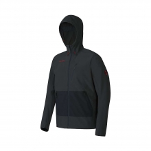 Men's Runbold SO Hooded Jacket by Mammut